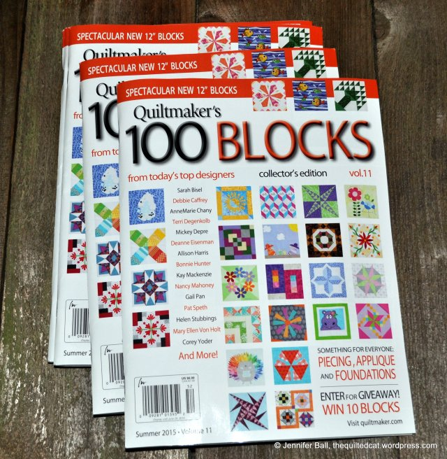 Quiltmaker's 100 Blocks, Volume 11