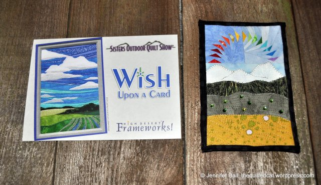 Wish Upon a Card Entry and Event Postcard