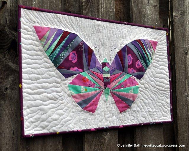 Beautiful Butterfly, Side Angle