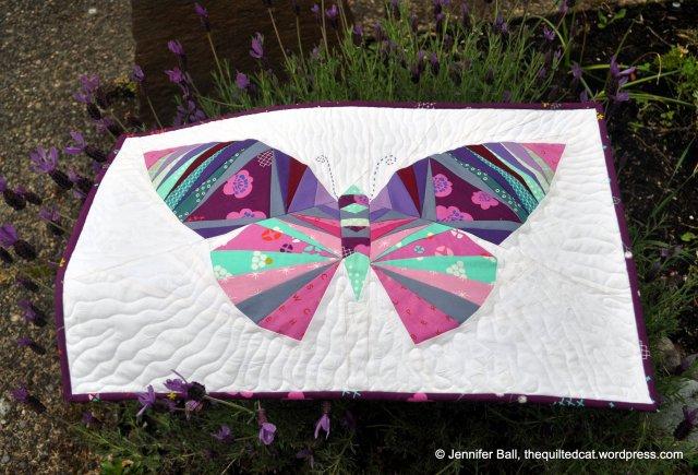 Butterfly on a Lavender Bush
