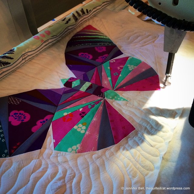 Quilting the Beautiful Butterfly!