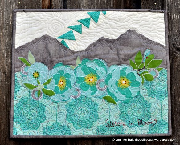 Sisters in Bloom Quilt Entry for the MQG Challenge