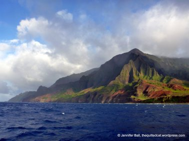 Napali coast during Captain Andy's dinner sail
