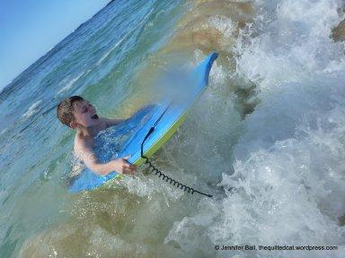 Ian at Poipu Beach