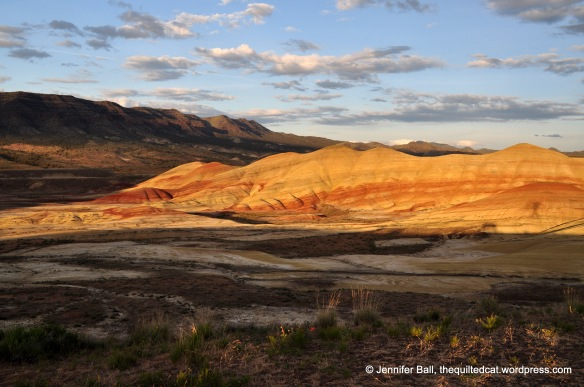 Painted Hills at Sunset, May 2016