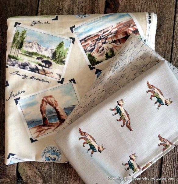 Fun Fabric from the Stitchin Post