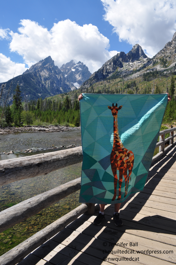 Giraffe at Grand Teton NP