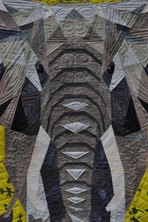 Elephant quilting