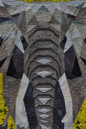 Elephant quilting