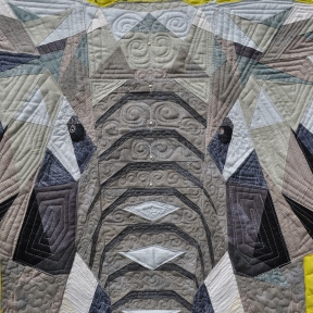 Elephant quilting detail