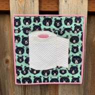 Completed Keep Calm and Roll On Mini Quilt on my fence