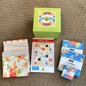 Little Box of Figs, Spring 2020, with Catalina Star pattern and fabric