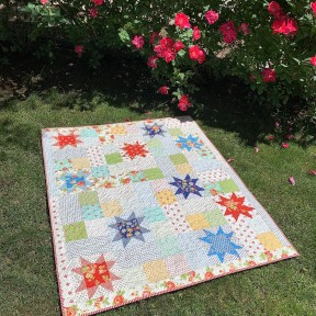 Completed Catalina Stars quilt